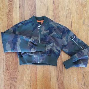 Jackets & Blazers - Camo print bomber jackets